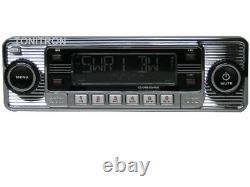 B Ware Classic Oldtimer Youngtimer Retro Radio DAB+ Autoradio USB Aux In Chrom