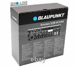 Blaupunkt Bremen Sqr 46 DAB 12V Car Radio Bluetooth Retro Classic Car Yountimer