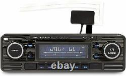 Caliber RMD120DAB-BT/B RetroLook BT USB SD DAB+ Radio mit Antenne Oldtimer Young