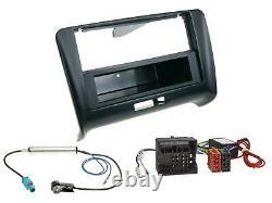 Dietz Bluetooth MP3 DAB USB Autoradio für Audi TT 06-14 Aktivsystem Quadlock