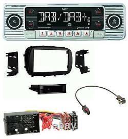 Dietz Bluetooth MP3 DAB USB Autoradio für Fiat 500X (ab 2015)