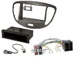 Dietz Bluetooth MP3 DAB USB Autoradio für Hyundai i10 2008-2013 dunkelsilber