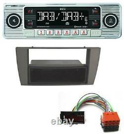Dietz Bluetooth MP3 DAB USB Autoradio für Jaguar S-Type X-Type 2003-2008
