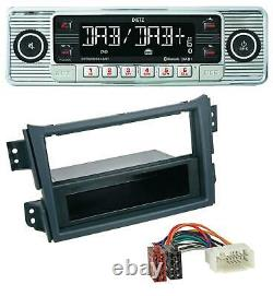Dietz Bluetooth MP3 DAB USB Autoradio für Opel Agila B 2008-2014 Suzuki Splash