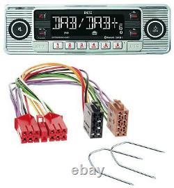 Dietz Bluetooth MP3 DAB USB Autoradio für Renault R5 R19 R21 Espace bis 1993