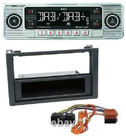 Dietz Bluetooth MP3 DAB USB Autoradio für Saab 9.3 (ab 2006)