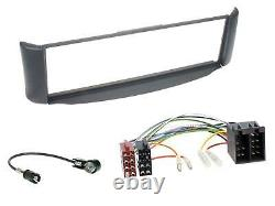 Dietz Bluetooth MP3 DAB USB Autoradio für Smart ForTwo 450 grau ohne Metallschac
