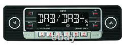 Dietz Retro Look Autoradio DAB+ USB BT Radio Fernbedienung RETRO301DAB black