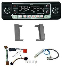 Dietz USB DAB MP3 Bluetooth Autoradio für Audi A2 A3 8L A4 B5 TT 99-06 Aktivsyst