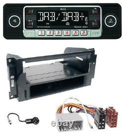 Dietz USB DAB MP3 Bluetooth Autoradio für Chrysler PT Cruiser 300C Dodge Jeep Co