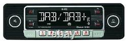 Dietz USB DAB MP3 Bluetooth Autoradio für Citroen Jumper Fiat Ducato 06-11 schwa