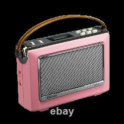 Goodmans OXFORD II 1960S Retro DAB+ Radio/Bluetooth/NFC BONBON PINK