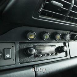 RETROSOUND DAB+ Set RSD-BLACK-6 mit Zubehör Autoradio für Oldtimer und US-Cars