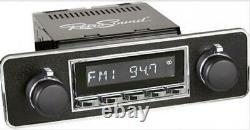 RETROSOUND RSD-TRIM-7 MOTOR-7 DAB+ Komplett-Set Trim Autoradio für Oldtimer