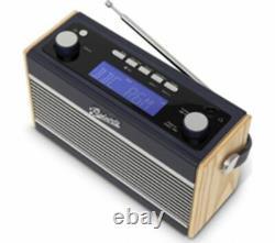 ROBERTS Rambler BT Portable DAB+/FM Retro Bluetooth Radio Navy Blue Currys