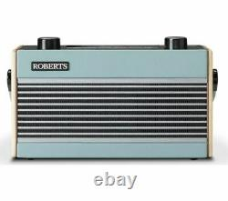 ROBERTS Rambler Portable DAB+/FM Retro Bluetooth Radio Blue Currys