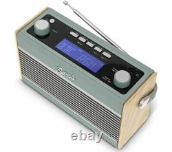 ROBERTS Rambler Portable DAB+/FM Retro Bluetooth Radio Duck Egg Currys