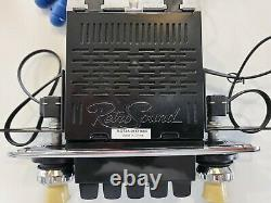 Retro Sound San Diego Classic DAB Car Radio Sapphire Ivory Spindle Bluetooth USB
