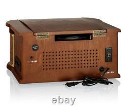 Roadstar HIF-1996D+BT Holz Retro Digitalradio DAB+ & UKW, Bluetooth, CD, MP3