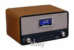 Roadstar HRA-1786D+BT Retro Design Radio mit Bluetooth & DAB CD/MP3 USB Vintage