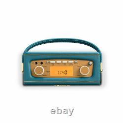 Roberts DAB DAB+ FM Digital Radio Teal Blue REVIVAL UNO CLEARANCE 5100700344