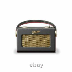 Roberts Digital Compact Radio DAB/DAB+/FM with Alarm Charcoal Grey UNO