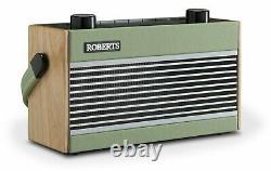 Roberts Rambler Retro DAB Bluetooth Radio Green