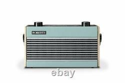 Roberts Rambler Wooden Retro Bluetooth DAB RDS Radio Blue