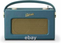 Roberts Retro Portable Internet Radio Teal Blue