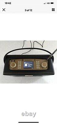 Roberts Revival RD70 Retro Portable DAB Radio with Bluetooth In Black