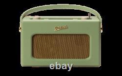 Roberts Revival RD70 Retro Portable DAB Radio with Bluetooth Leaf
