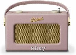 Roberts Revival Uno Retro Compact DAB/DAB+/FM Radio Dusky Pink
