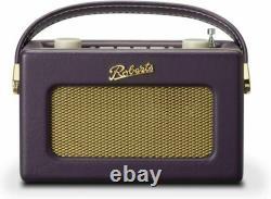 Roberts Revival Uno Retro DAB/DAB/FM Digital Radio + Alarm Mulberry Purple