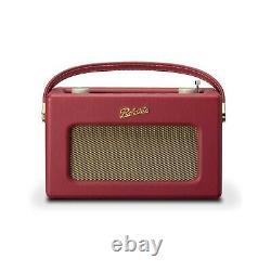 Roberts Revival iStream3 Portable Retro Smart Digital Radio Berry Red