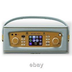Roberts Revival iStream3 Portable Retro Smart Digital Radio Duck Egg