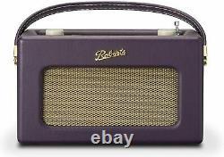 Roberts Revival iStream3 Portable Retro Smart Digital Radio Mulberry Purple