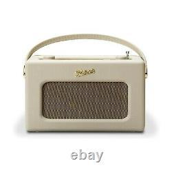 Roberts Revival iStream3 Portable Retro Smart Digital Radio Pastel Cream