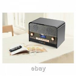 Technaxx TX-102 Retro Bluetooth DAB+/FM-Stereoradio mit CD-Player & USB