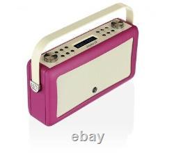 VQ Retro Digital-Radio Hepburn MKII DAB+ FM Bluetooth Weckfunktion AUX Wecker
