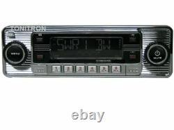 B Ware Classic Oldtimer Youngtimer Rétro Radio Dab+ Autoradio Usb Aux In Chrom