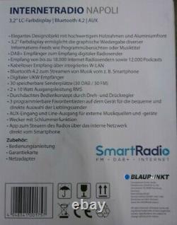 Blaupunkt Napoli Ird 400 Ukw Dab+ Internetradio Avec Wlan Bluetooth Rétro-radio