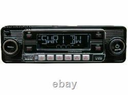 Dietz 301 Classic Oldtimer Youngtimer Rétro Radio Dab+ Autoradio Usb Aux Schwarz