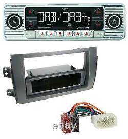 Dietz Bluetooth Mp3 Dab Usb Autoradio Für Fiat Sedici, Suzuki Sx 4