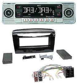 Dietz Bluetooth Mp3 Dab Usb Autoradio Für Lancia Y Ab 12 Schwarz Glänzend