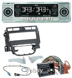 Dietz Bluetooth Mp3 Dab Usb Autoradio Für Opel Meriva B (ab 2010)