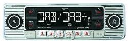 Dietz Bluetooth Mp3 Dab Usb Autoradio Für Renault Megane 3 09-14 Schwarz