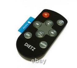 Dietz Retro Look Autoradio Dab+ Bt Usb Fernbedienung Retro300dab/bt Chrom