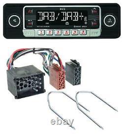 Dietz Usb Dab Mp3 Bluetooth Autoradio Für Bmw (e36, 1990-2000)