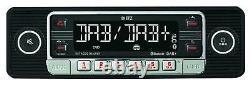 Dietz Usb Dab Mp3 Bluetooth Autoradio Für Citroen C5 Peugeot 407 Ab 04 Grau-meta