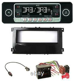Dietz Usb Dab Mp3 Bluetooth Autoradio Für Ford C-max Galaxy Focus Ab 2007 Glänze